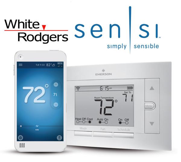 White Rodger's Sensi WiFi Thermostat