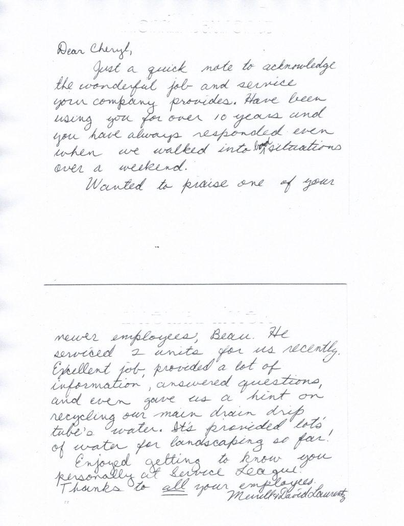 Laurentz-Testimonial
